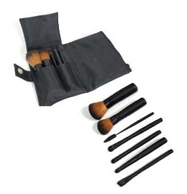 Brown Faux Mini Travel Set